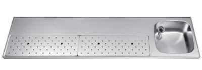 Franke ST-BB200-1R lekblad spoelblad tapblad