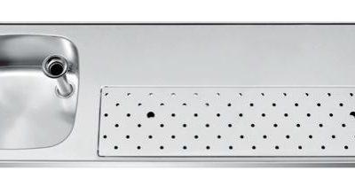 Franke ST-BB150-1L lekblad spoelblad tapblad